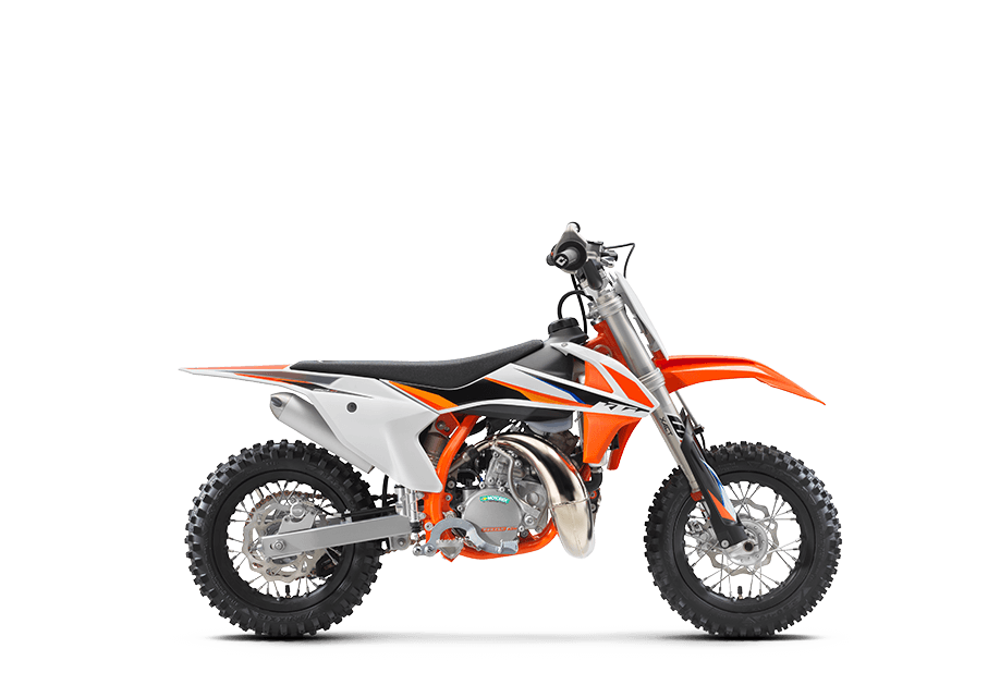 KTM 50 SX MINI 2021 NEVER TOO YOUNG TO LEARN